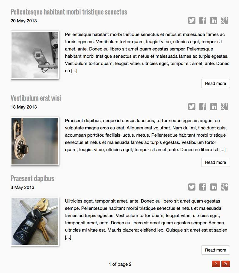 Slotenmaker WordPress Thema - Krachtig blog thema