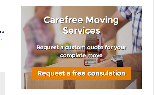 Packers And Movers WordPress Theme - Call-to-actions