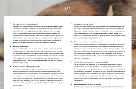Dieren Oppas WordPress Thema - FAQ