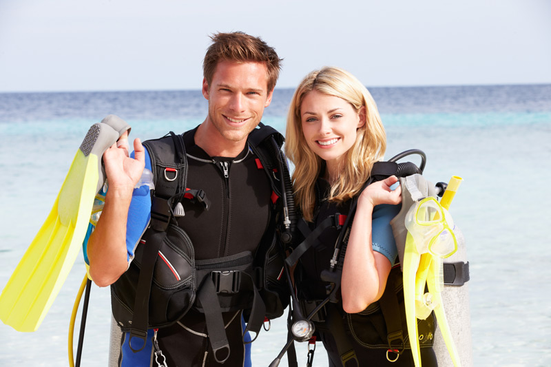 Scuba Diving WordPress Theme - Made for diving instructors