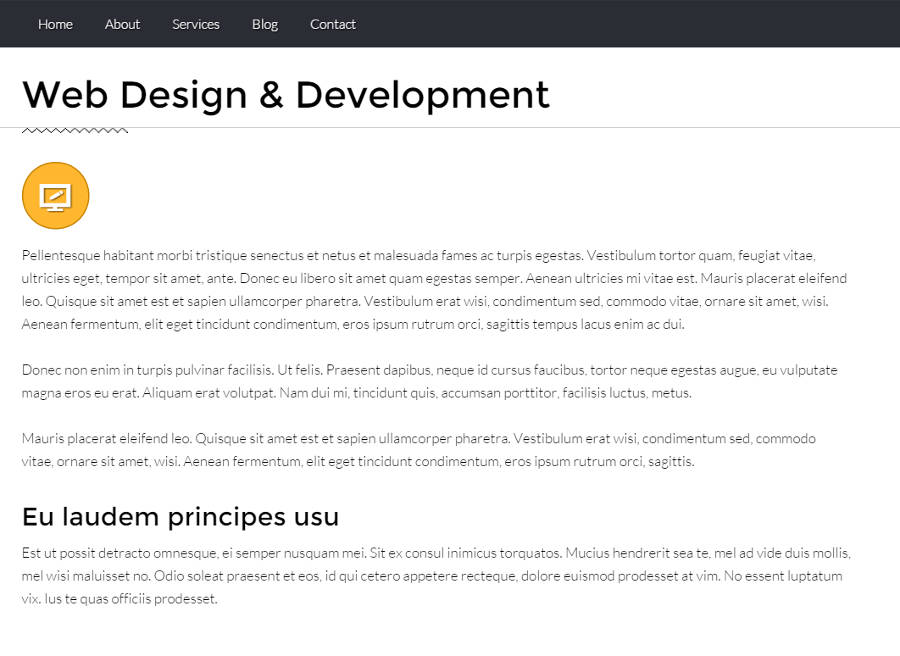 SEO Agency WordPress Theme - Solid detail pages