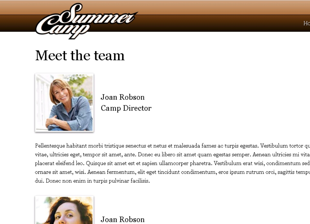 Summer Camp WordPress Theme - Made for summer camp managers