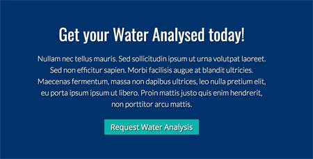 Water Purifier WordPress Theme - Powerful call-to-actions