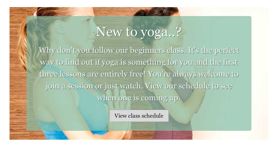 Yoga WordPress Theme - Great call-to-actions