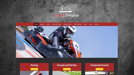 desktop screenshot Kart WordPress Theme