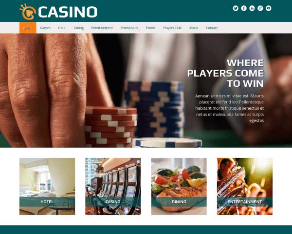 Casino WordPress Theme thumbnail