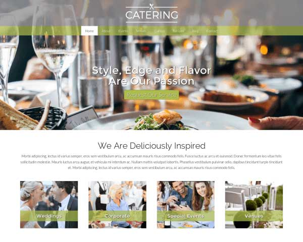 Catering WordPress Theme thumbnail