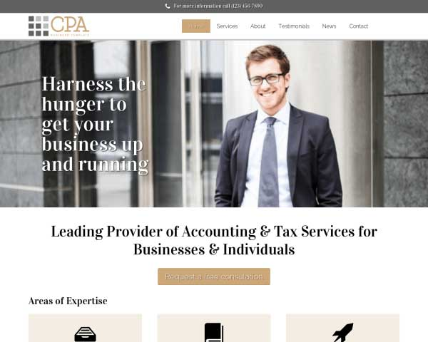CPA WordPress Theme thumbnail