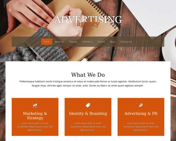 Advertising Agency WordPress Theme thumbnail