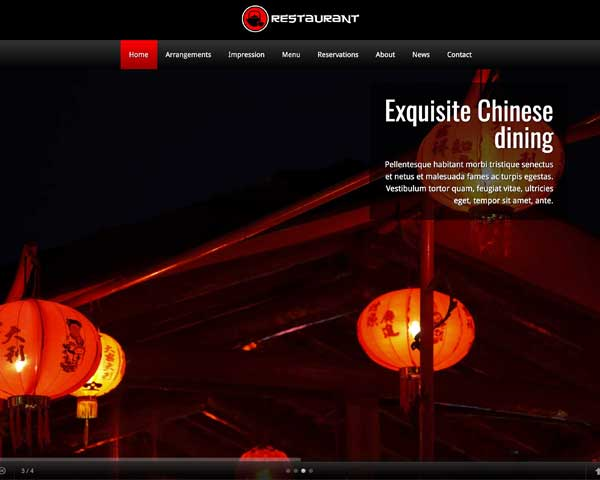 Chinese Restaurant WordPress Theme thumbnail