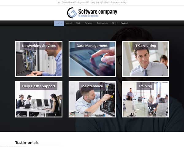 Software Company WordPress Theme thumbnail