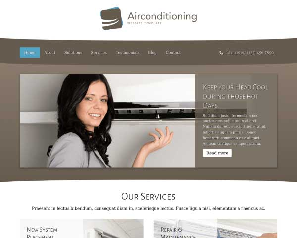 AC Repair WordPress Theme thumbnail