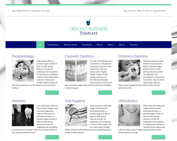 Dental WordPress Theme thumbnail