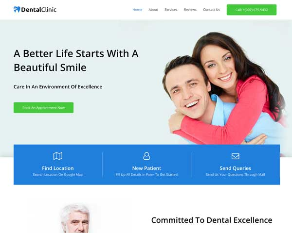 Dental Clinic Astra Starter Site thumbnail