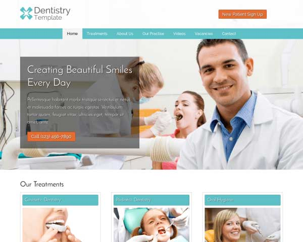 Dentistry WordPress Theme thumbnail
