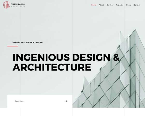 Architecture Firm Astra Starter Site thumbnail