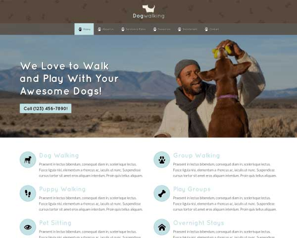 Pet Care WordPress Theme thumbnail