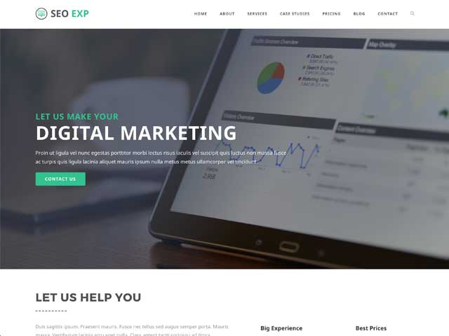 Online Marketing OceanWP Demo thumbnail