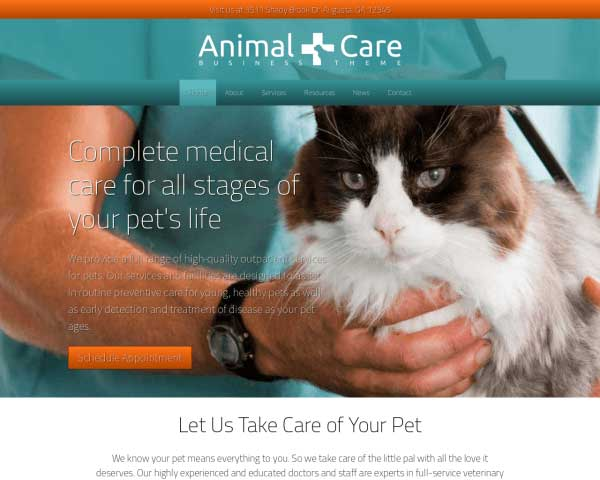 Animal Care WordPress Theme thumbnail