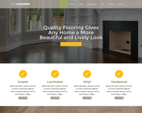 Flooring WordPress Theme thumbnail