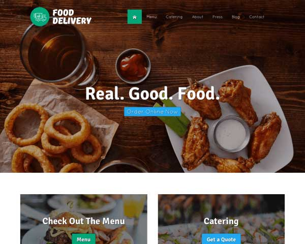 Food Delivery WordPress Theme thumbnail