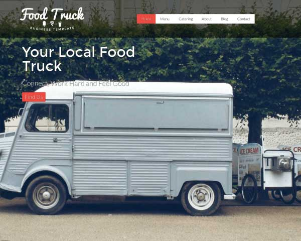 Food Truck WordPress Theme thumbnail