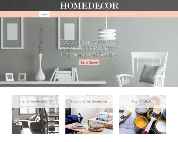 Home Decor WordPress Theme thumbnail