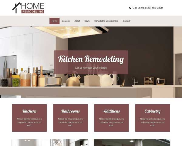 Remodeling WordPress Theme thumbnail