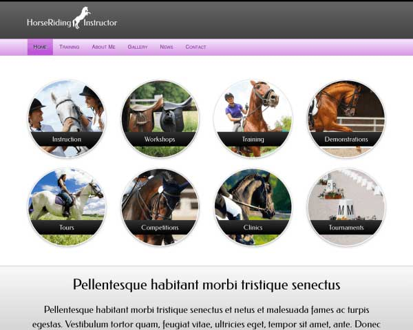 Horse Club WordPress Theme thumbnail