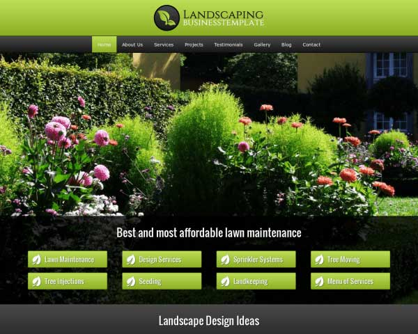 Landscaping WordPress Theme thumbnail