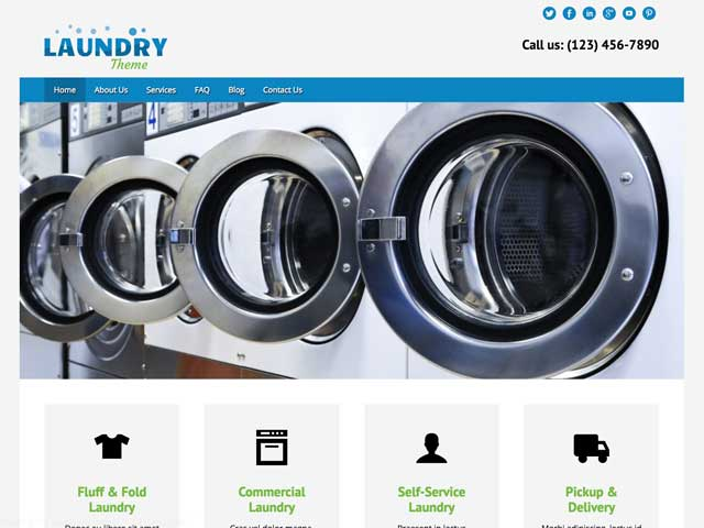 Laundry WordPress Theme thumbnail