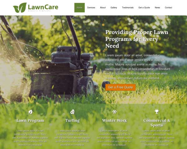 Lawn Care WordPress Theme thumbnail