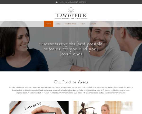 Law Office WordPress Theme thumbnail