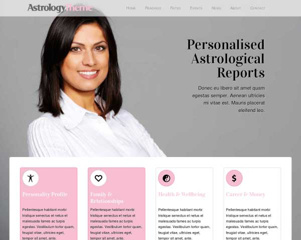 Astrologie WordPress Theme thumbnail
