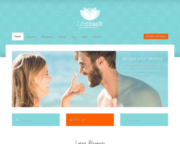 Life Coach WordPress Theme thumbnail