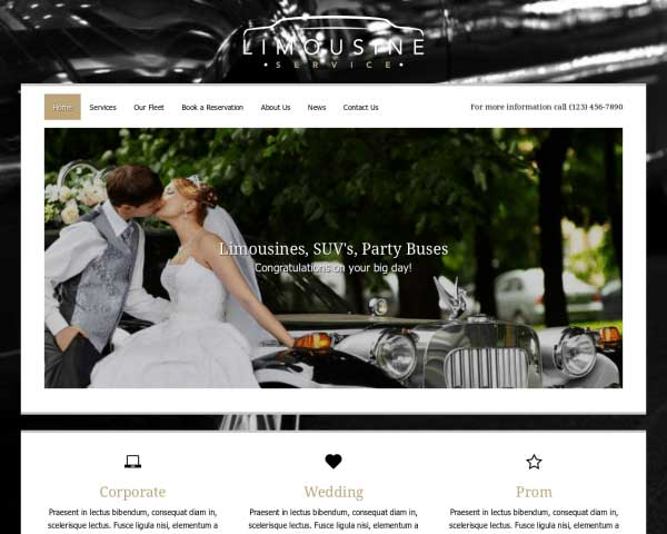 Limo Service WordPress Theme thumbnail