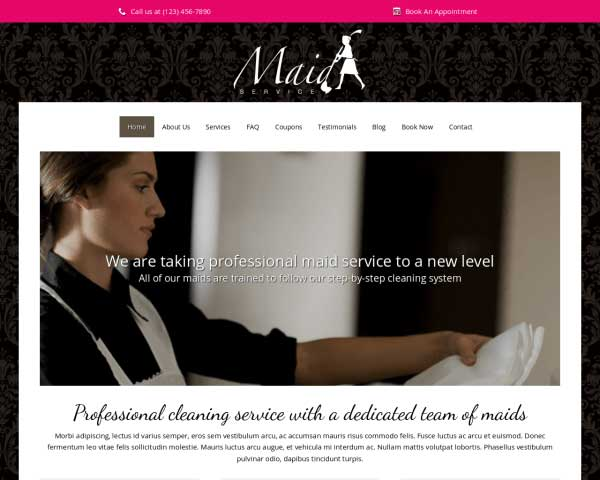 Maid Service WordPress Theme thumbnail