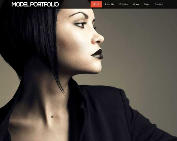 Model Portfolio WordPress Theme thumbnail