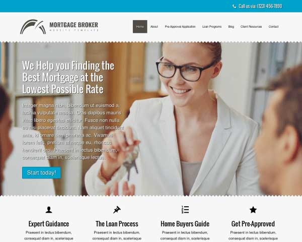 Loan Company WordPress Theme thumbnail