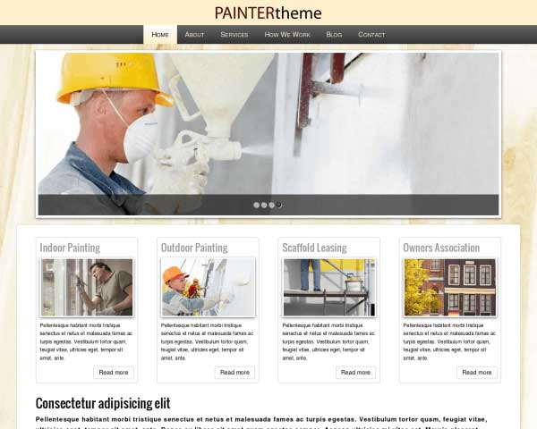 Painter WordPress Theme thumbnail