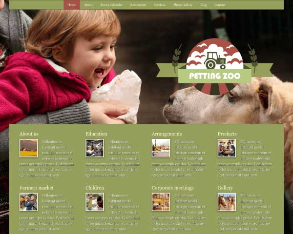 Petting Zoo WordPress Theme thumbnail