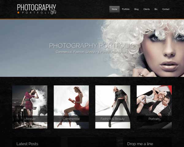 Photography Portfolio WordPress Theme thumbnail