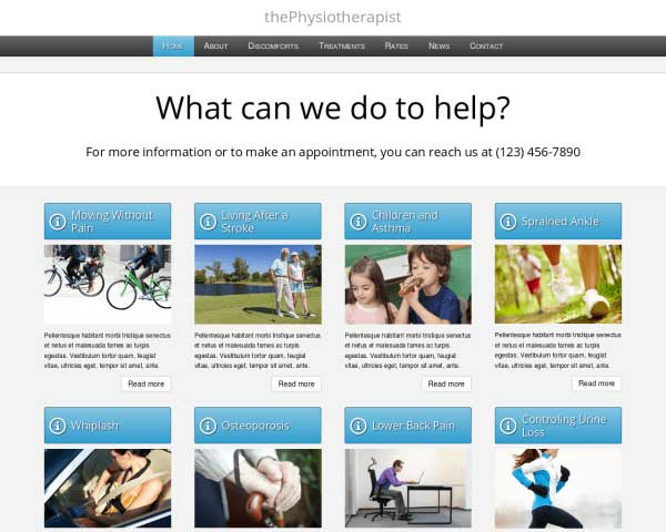 Physiotherapist WordPress Theme thumbnail