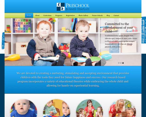 Preschool WordPress Theme thumbnail