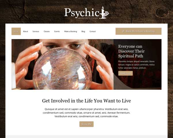 Psychic WordPress Theme thumbnail