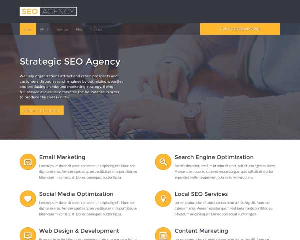 SEO Agency WordPress Theme thumbnail