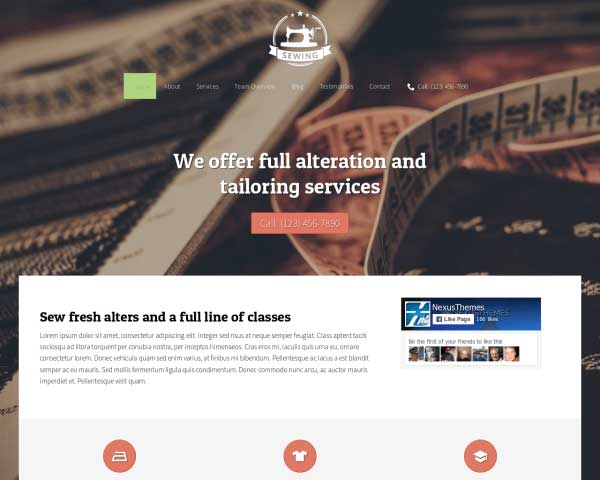 Naaiatelier WordPress Theme thumbnail