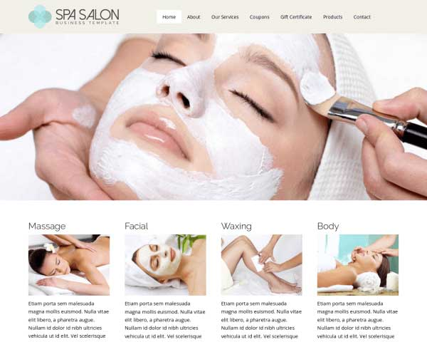 Spa WordPress Theme thumbnail