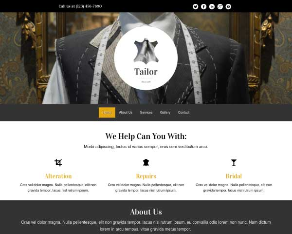 Tailor WordPress Theme thumbnail
