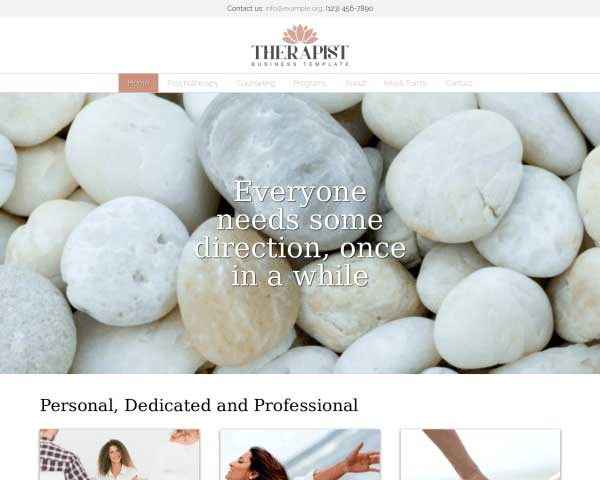 Therapist WordPress Theme thumbnail